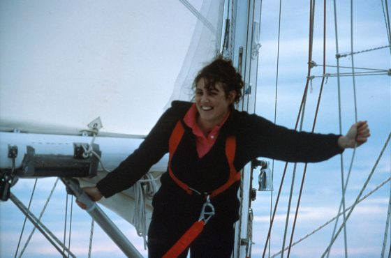 30 years ago today Kay Cottee set off around the world!