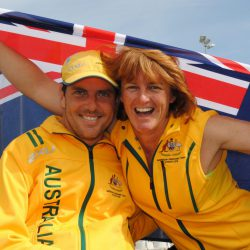Daniel Fitzgibbon OAM and Liesl Tesch AM