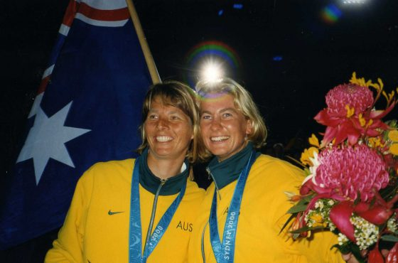 Jenny Armstrong and Belinda Stowell, to be inducted into the Australian Sailing Hall of Fame