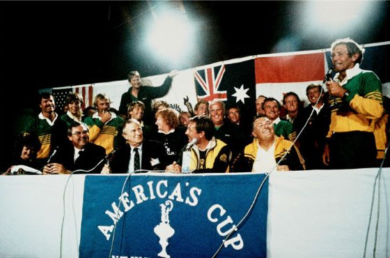 35 years since Australia won the America's Cup