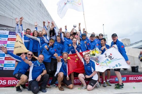 Australian Skipper Becomes the first woman to win the Clipper 'Round the World Yacht Race