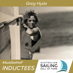 Greg Hyde is one of the most accomplished all-round sailors Australia has ever seen.