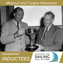 Trygve and Magnus Halvorsen are among the most successful ocean racers ever to have sailed out of Australia.